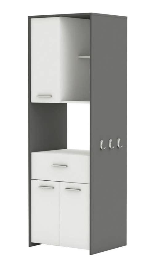 mobile porta forno microonde mobile porta microonde colore bianco e grigio