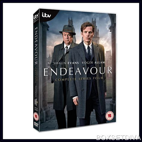 A Brand New Endeavor by Endeavour Complete Series 4 Brand New Dvd