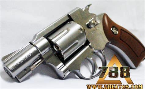 Airsoft Gun Revolver Mimis rcf sw38 2 quot silver revolver 4 5mm co2 mimis gotri area 788 menjual aksesoris sparepart