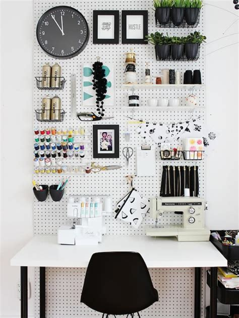 Pegboard Craft Room Photo Page Hgtv