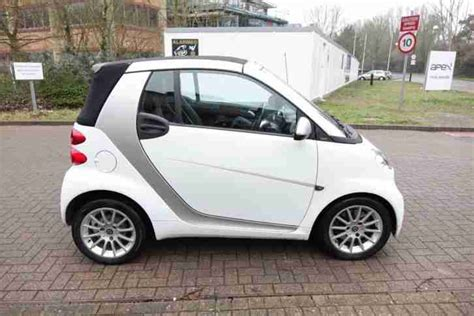 Used Cars For Sale In Uk Right Drive Smart 2011 Fortwo 1 0 Auto Convertible Right Drive