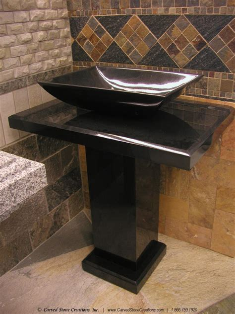 granite pedestal black granite pedestal sink and photos