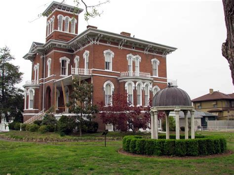 italianate style house magnolia manor cairo illinois u s national register