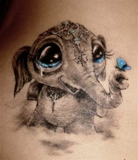 tattoo baby animal 40 pictures of baby animals tattoos