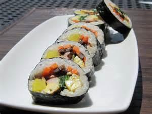 kimbap healthy korean sushi