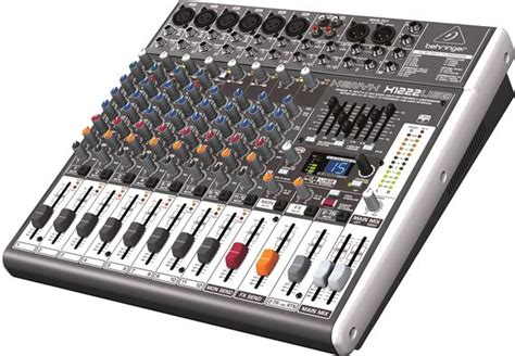 Mixer Audio Behringer Xenyx X1222usb behringer xenyx x1222usb usb audio mixer