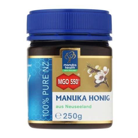 Manuka Health Mgo 550 Madu 250 G manuka health manuka honig mgo 550 in spitzenqualit 228 t