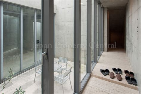 tadao andodesigned house in tokyo for sale � japan