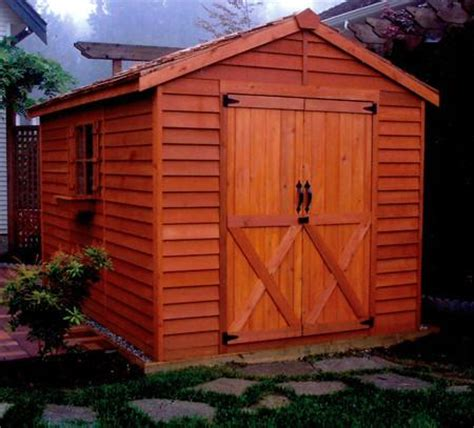Large Storage Shed Kits by Large Storage Sheds Big Garden Shed Kits Cedarshed Canada