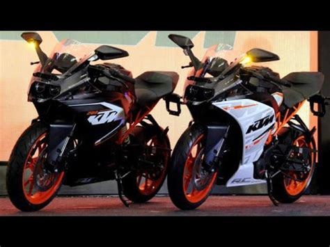 Ktm Rc 200 Launch In India Ktm Rc 200 Rc 390 Launch In India Walkaround