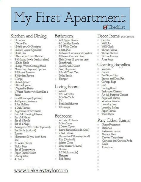 home essentials list first home essentials checklist first home essentials