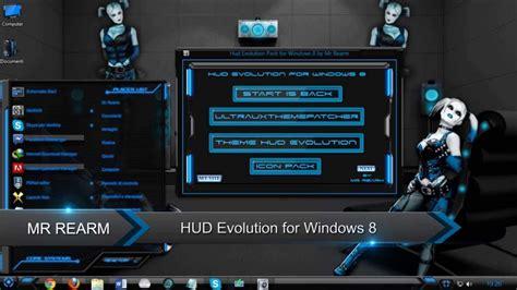 hud themes for windows 8 1 hud evolution for windows 8 youtube