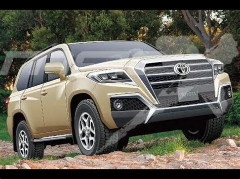 2020 Toyota Land Cruiser by Next Toyota Land Cruiser Rendering 2020 Toyota