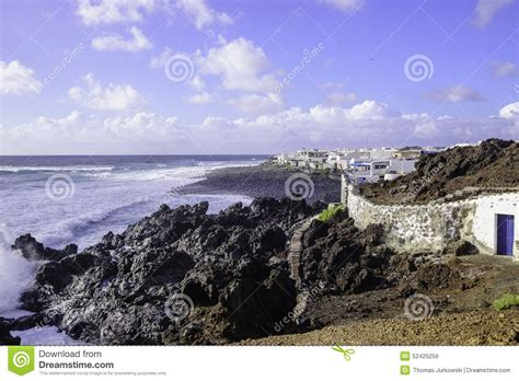 Beach House Plans Free lanzarote landscape editorial stock image image 52425259