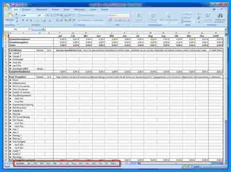Rechnung Kontrollieren Englisch 7 Einnahmen Ausgaben Excel Business Template