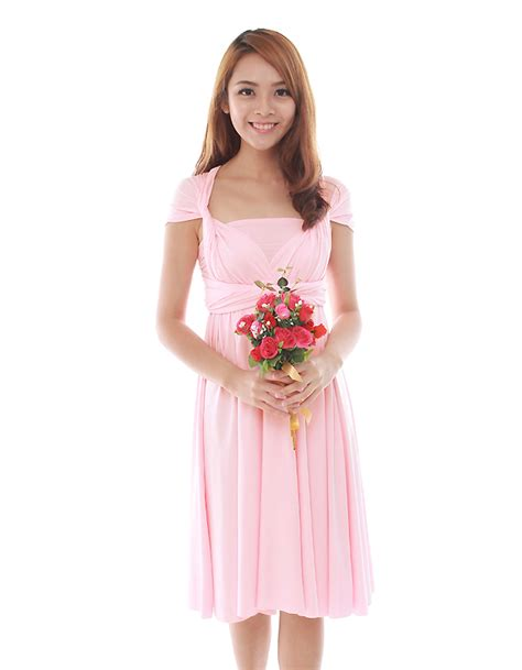 7 Sweet Dresses From Wee by Cherie Convertible Classic Dress In Sweet Pink The Bmd