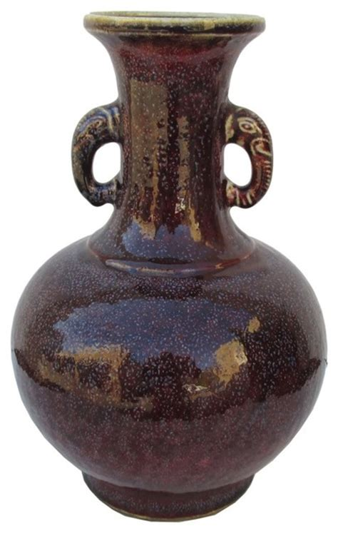 Elephant Vase Ceramic by Purple Elephant Ear Ceramic Vase Arts And