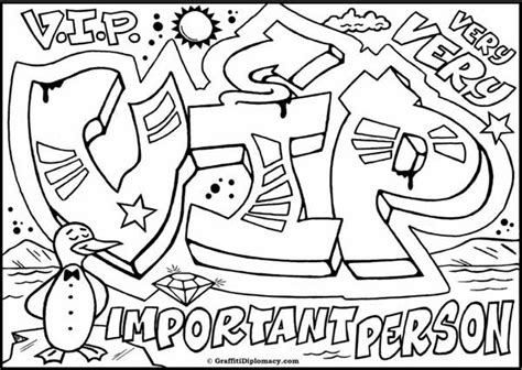 graffiti wall graffiti characters coloring pages