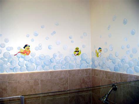 Children s wall mural bubble bath mural nursery murals kids mural murals for kids miami fort