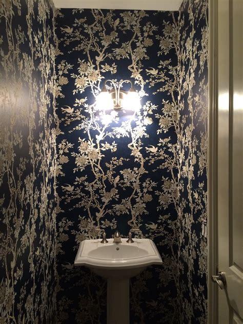 ralph lauren wallpaper tnwallpaperhanger wallpaper hanging project powder room in american wallpaper ralph