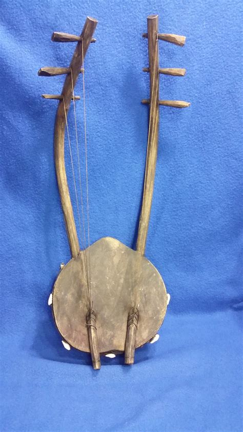 an handmade string instrument