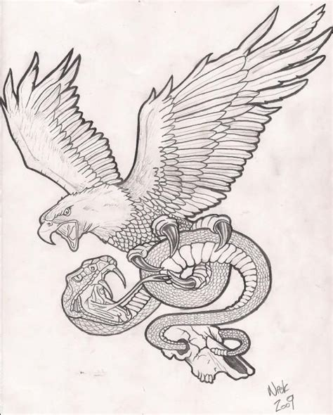 screaming eagle tattoos designs screaming grey eagle keeping a snake design