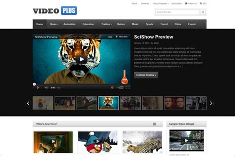 theme junkie videoplus 25 best video and multimedia wordpress themes