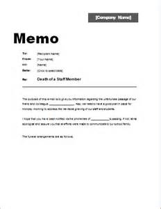 Memo Sle To Employees Memo About Of A Staff Member Word Excel Templates