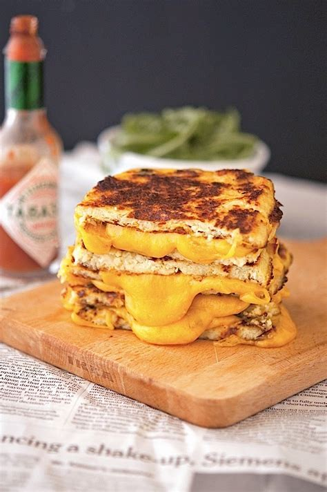 cauliflower grilled cheese try this cauliflower bread grilled cheese sandwich