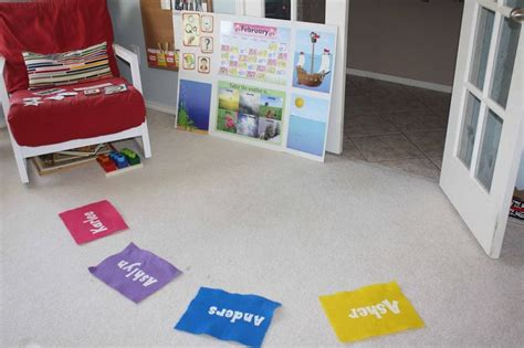 Preschool Circle Time Mats by Mats For Circle Time Homeschool Activities