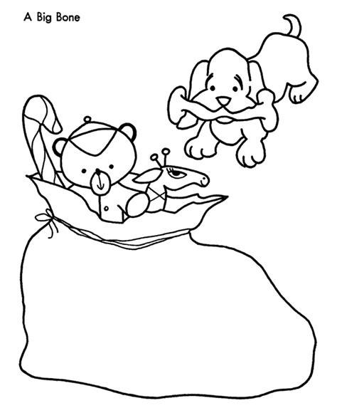 christmas coloring pages with dogs dog bone coloring page az coloring pages