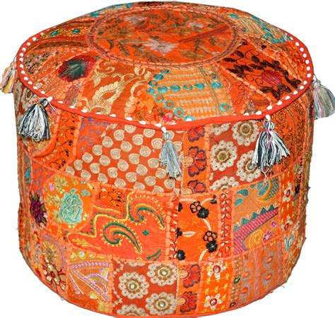 pouf chair indian pouf ottoman bohemian ottoman poufs foot stool