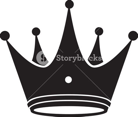 crown vector element royalty free stock image storyblocks