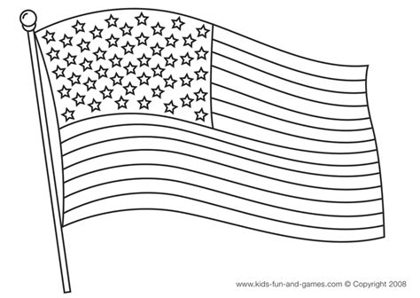 American Flag Coloring Page Patriotic Pinterest Flag Coloring Page
