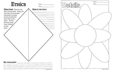 episode pattern organizer exles 50 best foldables graphic organizers images on pinterest