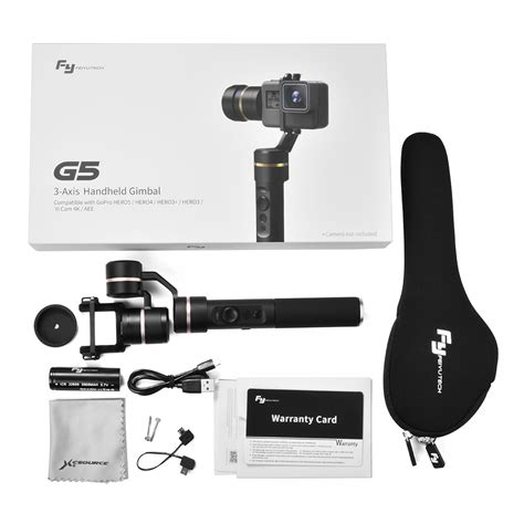 Feiyu G5 3 Axis Gimbal Stabilizer For Gopro Dan feiyu g5 3 axis handheld gimbal stabilizer for gopro 5 tv064 ebay