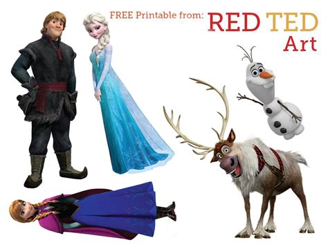 Printable Frozen Characters | disney frozen images free download images