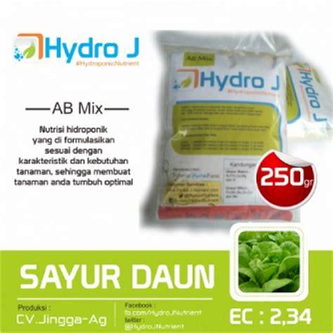 Jual Pupuk Tanaman Hidroponik jual pupuk nutrisi hidroponik ab mix sayur daun hydro j