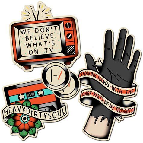 Twenty One Pilots Stickers twenty one pilots stickers want style