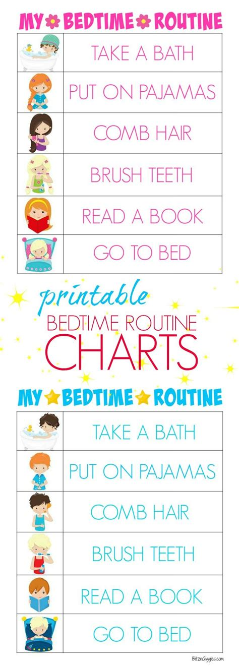 printable toddler routine chart best 25 daily routine chart ideas on pinterest daily