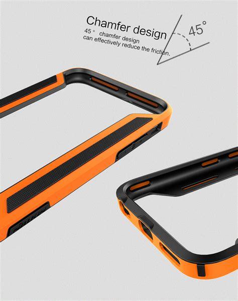 Stuff Nillkin Border Frame Bumper For Iphone 6 Black nillkin slim armor border apple iphone 6s orange