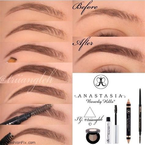 natural eyebrow makeup tutorial for beginners how to shape eyebrows with eyebrow kit fab fashion fix