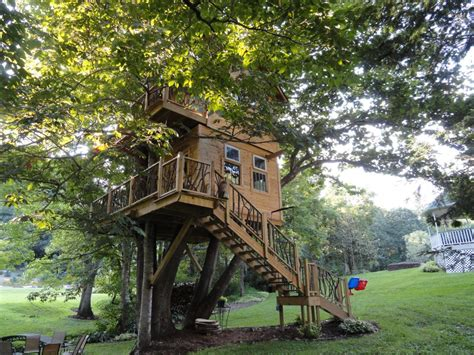 Outdoor: Diy Treehouse For Creative And Refreshing Outdoor