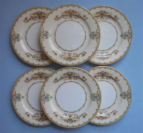 arabella china pattern noritake arabella 6 bread plates vintage 1930s china