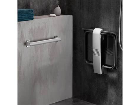 sedili doccia sedile doccia ribaltabile arsis grigio antracite e grigio