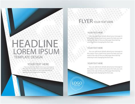 adobe illustrator flyer template free vector download