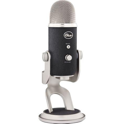 condenser microphone yeti blue yeti pro usb xlr microphone yeti pro b h photo