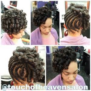 flexi rod hairstyles relaxed hair flat twist natural hair flexi rod set on natural the