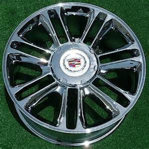 Cadillac Escalade 22 Rims Oem Wheels Direct Cadillac Escalade Platinum Chrome 22 In