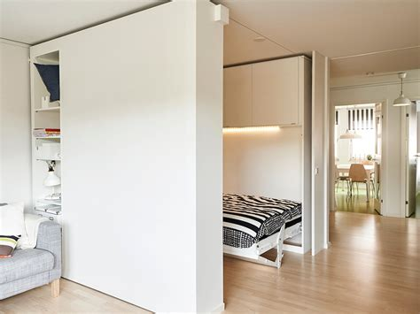 ikea flexible space ikea built a moveable wall to help people live big in tiny